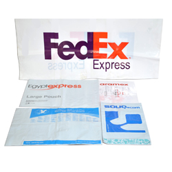 Bags used for express mail